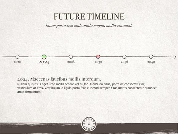 time flies keynote template