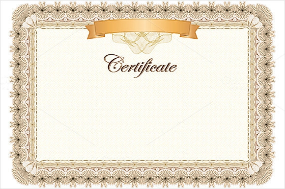 Sample Award Certificate Template 9 Samples Examples Format – Blank Certificates Template