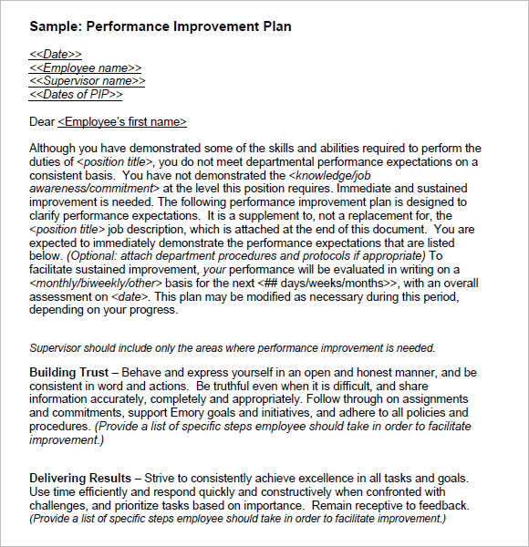 an essay on performance improvement plan and its importance Performance management plan proposal (essay sample) performance management is helping the society realize the importance of.