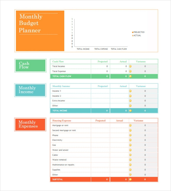 Personal Budget Template Excel Free