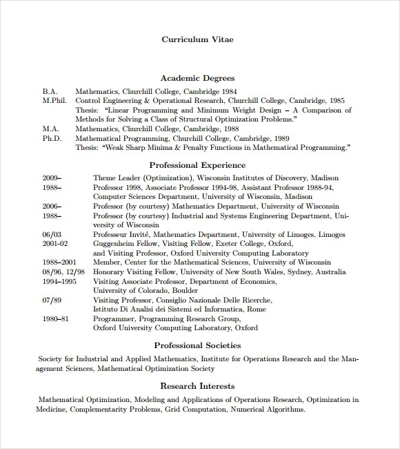10 programmer resume templates samples examples format