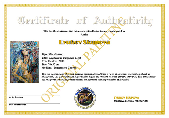 16 sample certificate of authenticity documents in pdf psd fine art certificate of authenticity yadclub Image collections