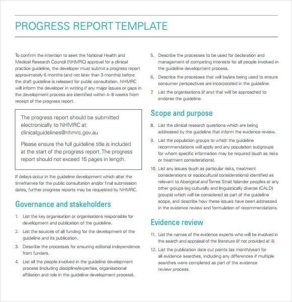 format of fortnightly report Project status report this project report will help you communicate the status of your project, to your staff and stakeholders project reports enable you to keep people regularly informed of the progress of the project and to raise any items for their attention.