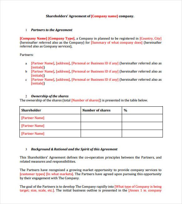 sample investor agreement pdf full version free software download