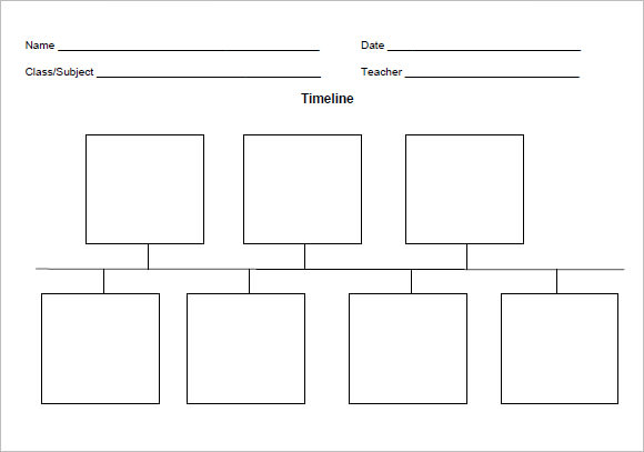 9+ Timeline Templates for Kids – Samples , Examples , Format