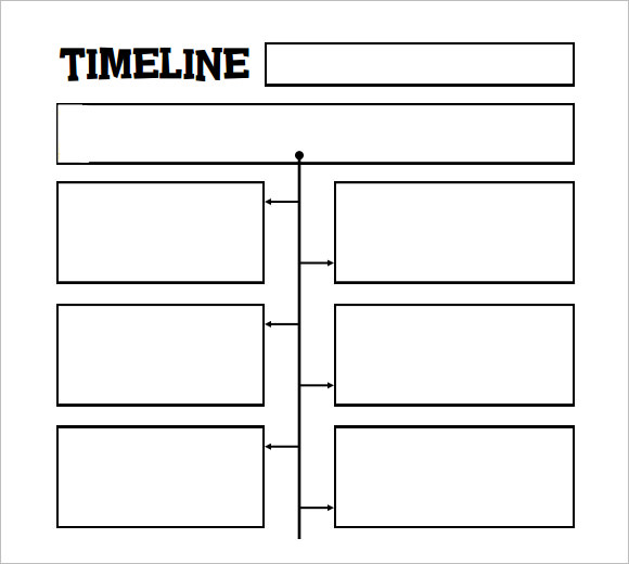 photograph relating to Printable Timelines named Totally free 8+ Timeline Templates for Little ones within Samples, Illustrations, Layout