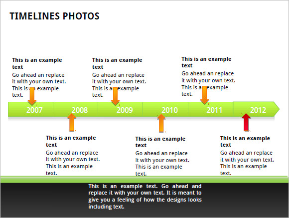Sample Business Timeline Template   Free Samples Examples Format