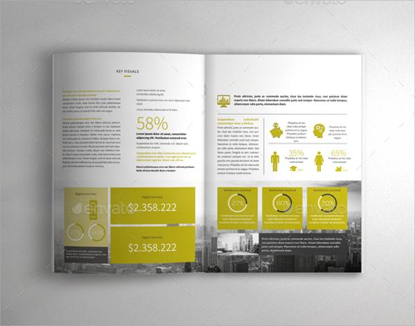 indesign format business brochure