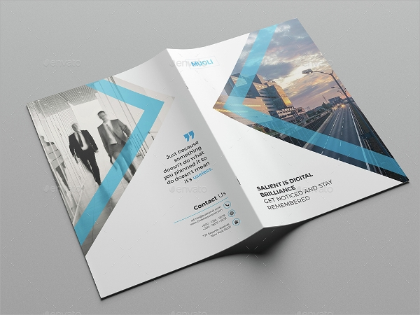 sample business brochure