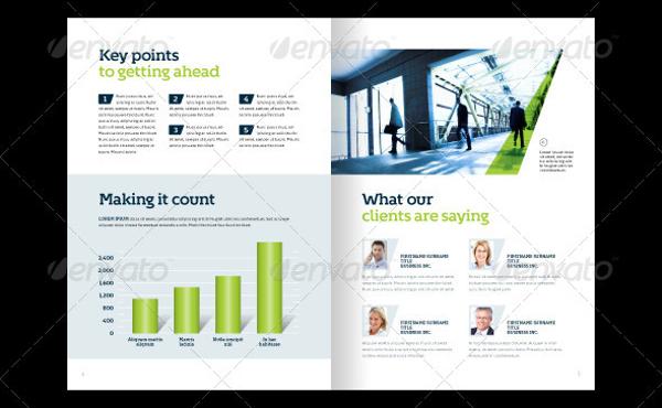 premium business brochure