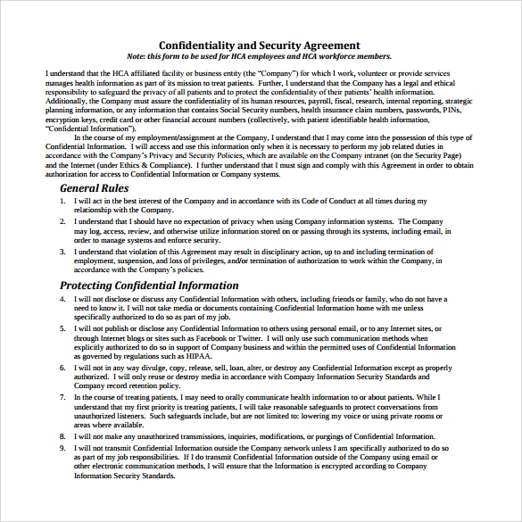 Security Agreement Free Download