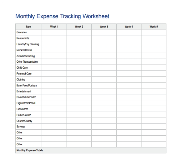 free 15  tracking sheet samples in google docs