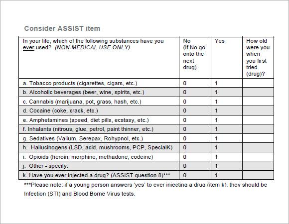 Assessmentt - 7 Free Samples  Examples  Format  Sample Templates