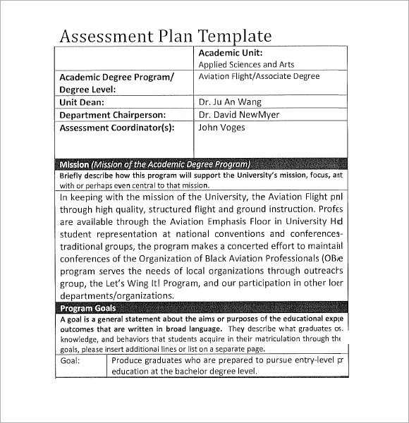 Degree Plan Template from images.sampletemplates.com
