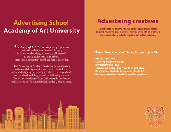 college brochure sample
