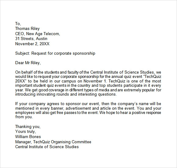 example sponsorship letter 193