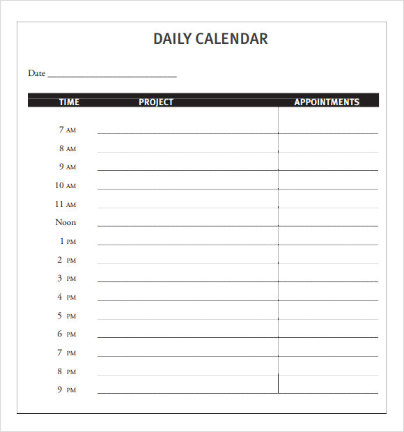 Daily Calendar Design : Daily calendar template e commercewordpress