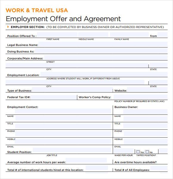 34 Best Work  U2026 Sample Executive Agreement