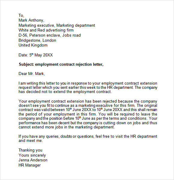essay contract employment important