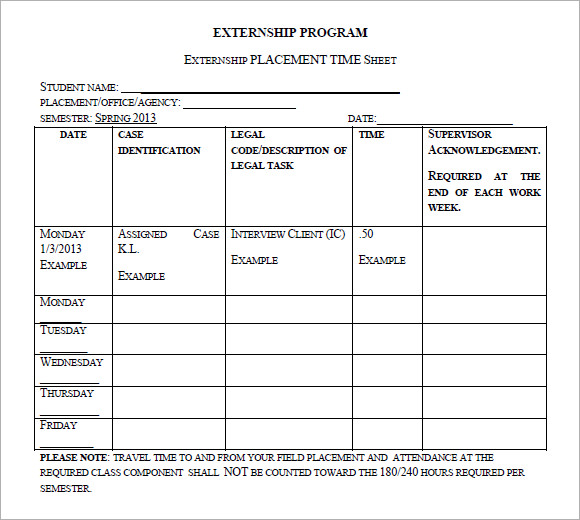 10+ Attorney Timesheet Templates U2013 Free Sample, Example U2026 Attorney Timesheet  Printable Time Sheets, Free To Download And Print