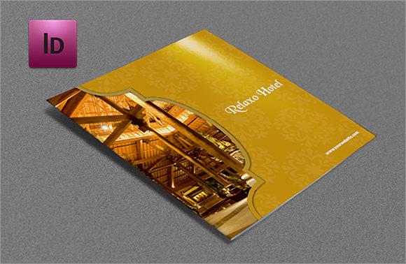 hotel restaurant brochure design