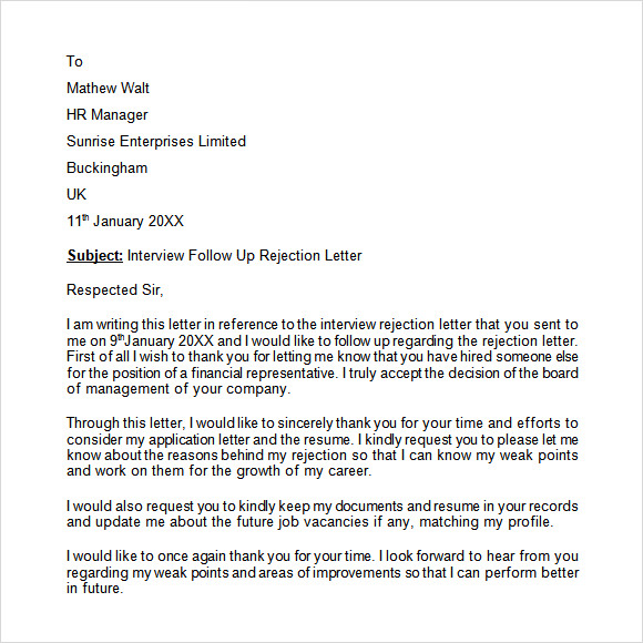 rejection letter after job application These email templates will let job candidates know that they are no longer under rejection email samples we have decided not to move your application forward.