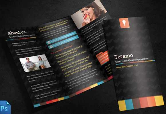 10 tri fold brochure templates sample templates for Brochure templates for mac