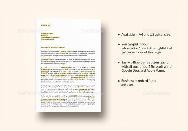 marketing recap proposal