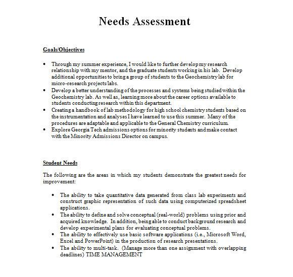 needs assessment template in ms word1