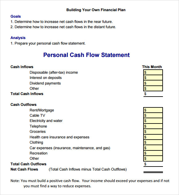 business cash budget template excel