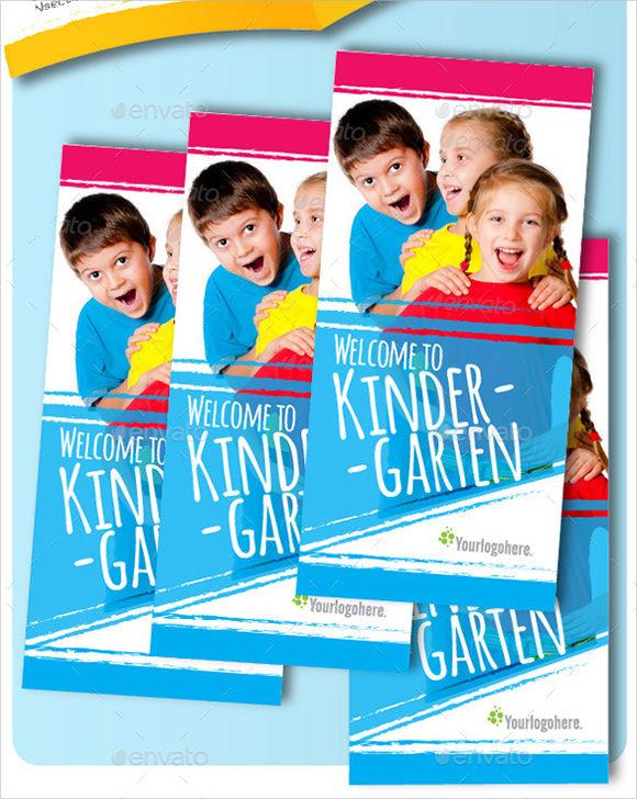 preschool kids brochure