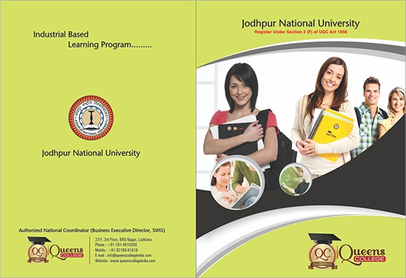 College Brochures  Psd Vector Eps