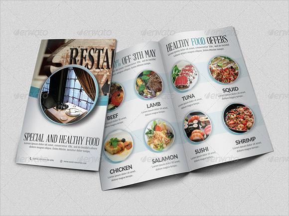 restaurant brochure design