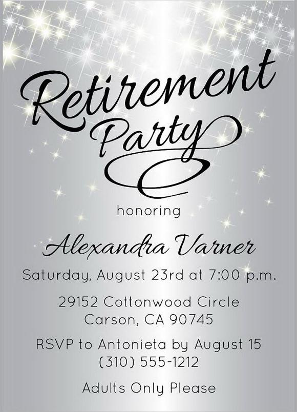 Pics Photos - Retirement Party Invitation Wordings