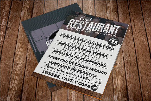 10+ Restaurant Brochures - Vector Eps, Psd