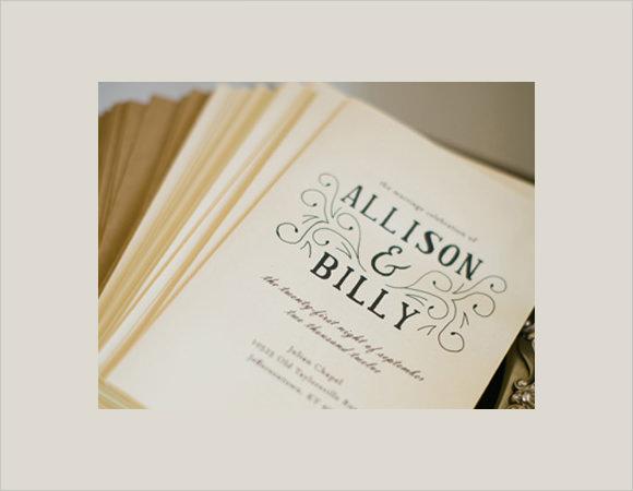 10 Wedding Brochures PSD In Design – Wedding Brochure Template