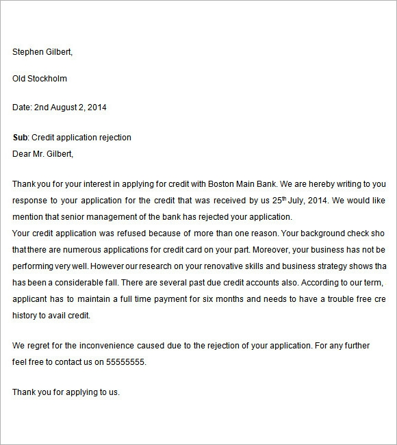What is the best way to deal with college rejection letter?