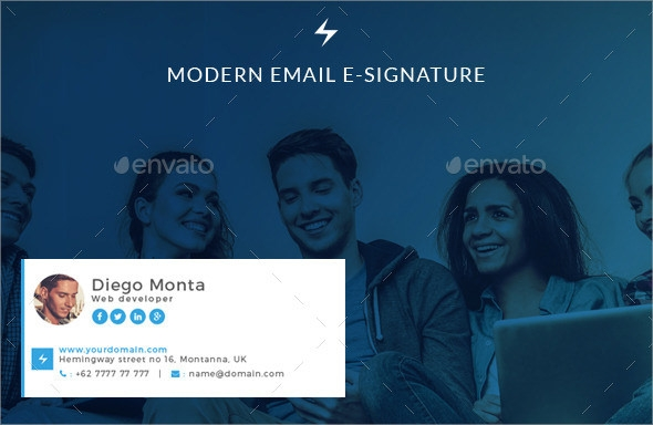 email signature design psd
