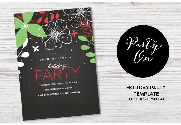 holiday invitation example