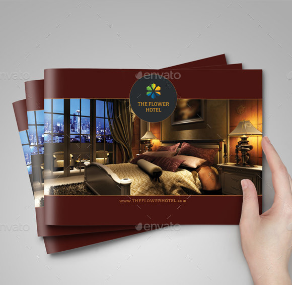 Hotel brochure 8 samples examples format sample for Hotel brochure design inspiration