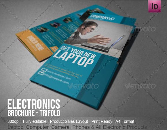 9 Sales Brochures Vector EPS PSD – Sales Brochure