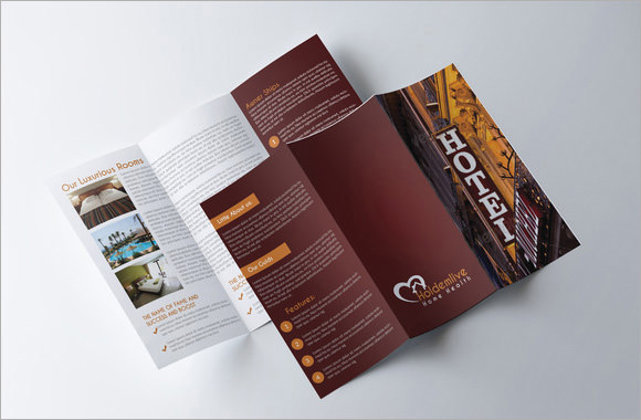 Hotel Brochures  Sample Example Format
