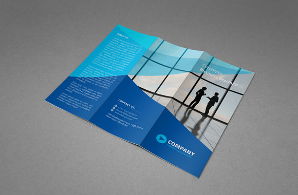 Tri fold brochure template 8 samples examples format sample templates for Photoshop trifold template