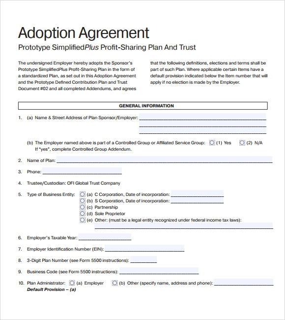 10 profit sharing agreement templates free samples examples