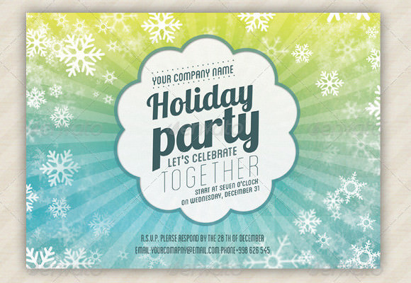 8+ Holiday Invitation Templates – Free Sample, Example, Format