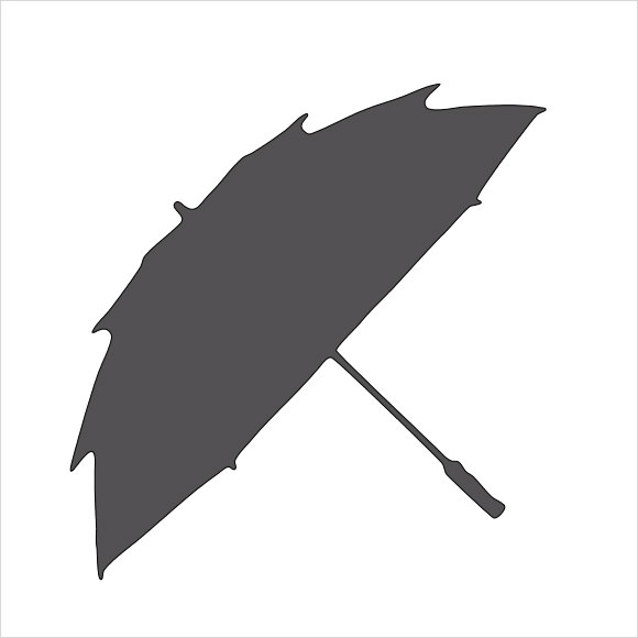 umbrella template for kindergarten