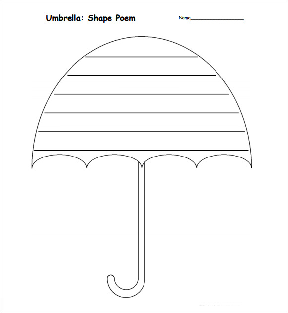 Sample Umbrella 6 Documents in PDF – Umbrella Template