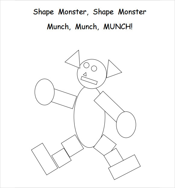 Monster Template   7 Download Documents in PDF Sample Templates Tc3r4tBf