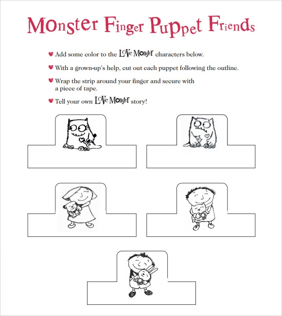Sample Monster Template 7 Free Documents In Pdf