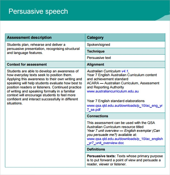 sample persuasive speech documents in pdf example of persuasive speech